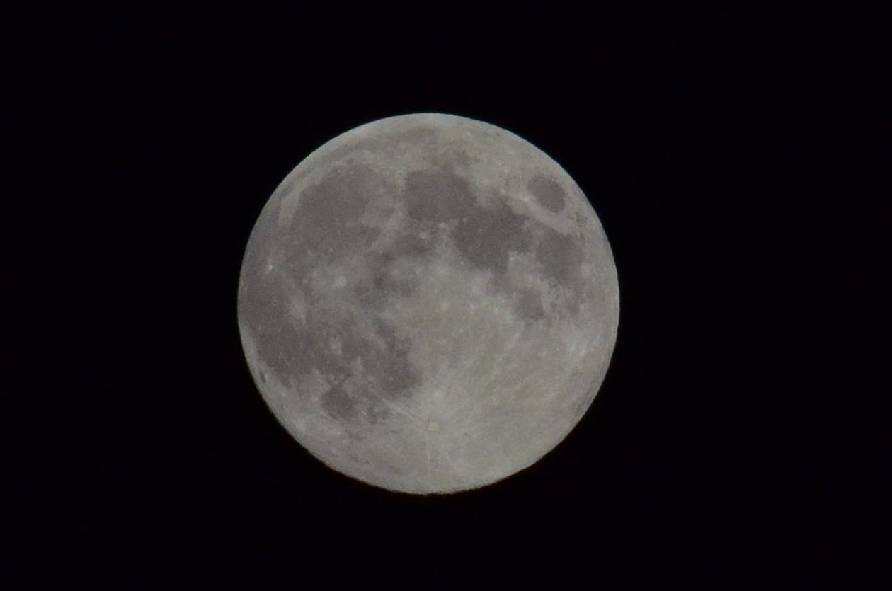Full moon with